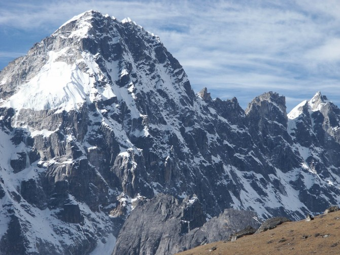 Mt. PHARI LAPCHA (6017 M)