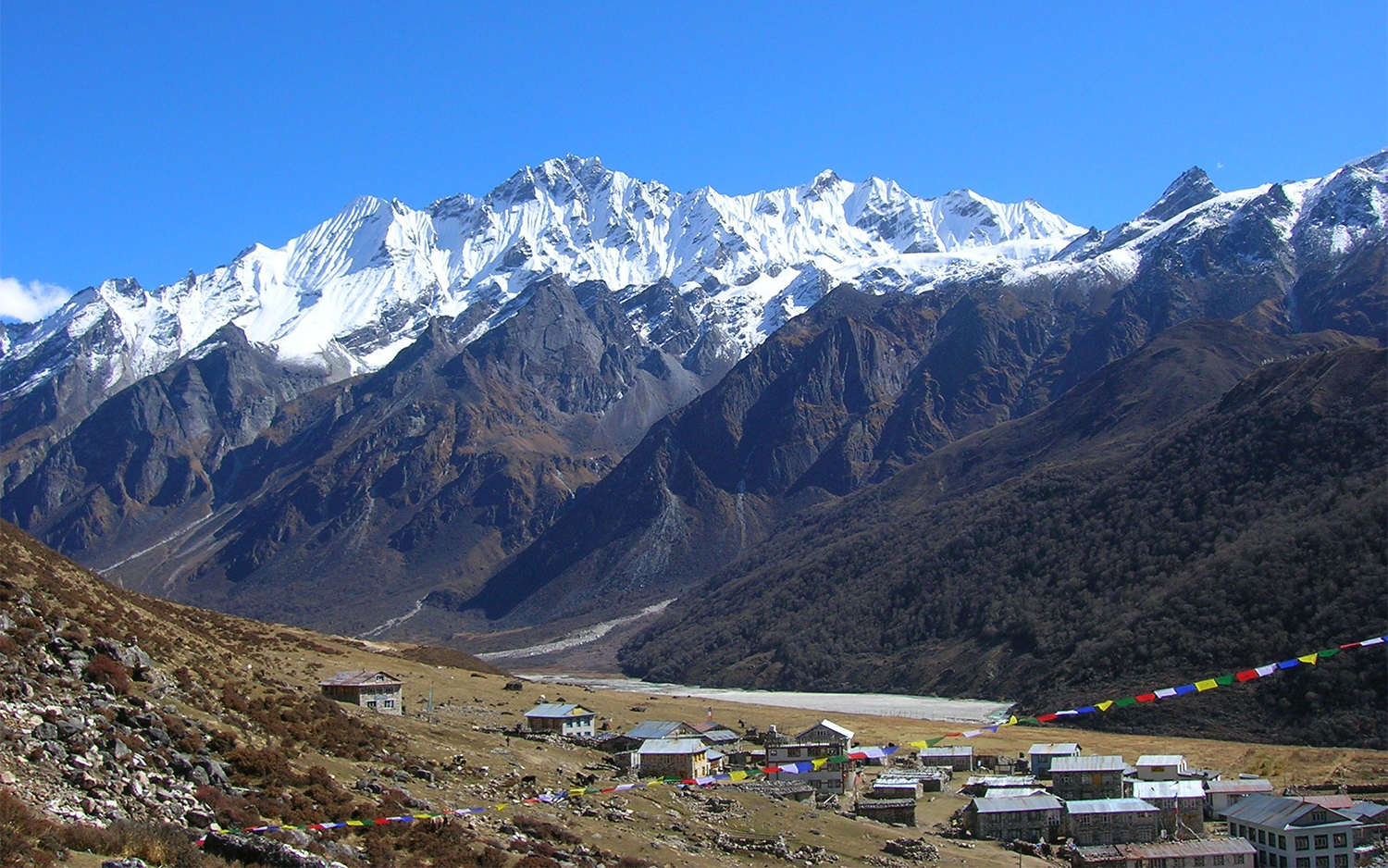 Langtang Valley Helicopter Tour